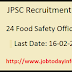 JPSC Recruitment 2016 – Apply Online for 24 Food Safety Officer Posts
