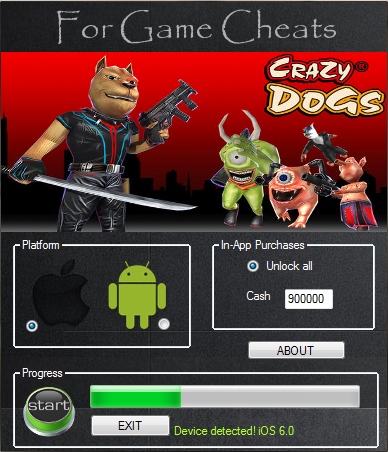 Crazy Dogs Game Hack