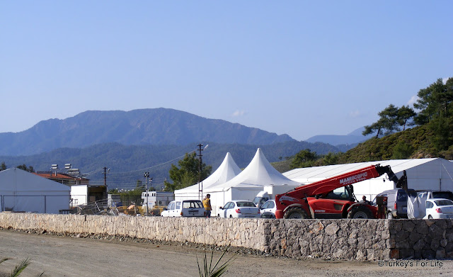 James Bond Film Set, Calis Beach, Fethiye