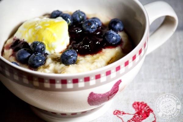 Valentine porridge