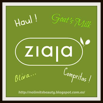 Haul Ziaja: compritas!