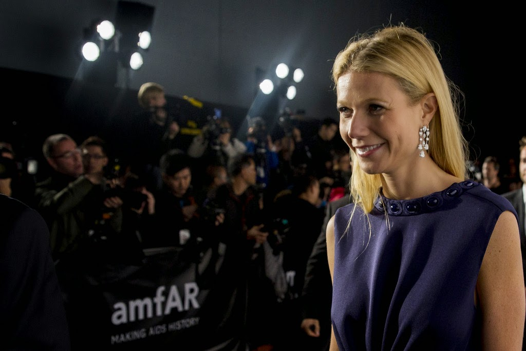 Actress @ Gwyneth Paltrow - 2015 amfAR Hong Kong gala