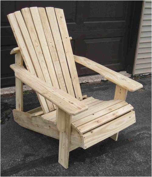 Adirondack Chair From Pallets