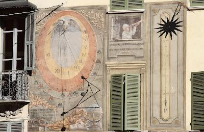 Two Sundials in Mondovì, Piemonte