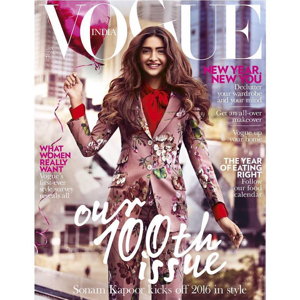 Sonam Kapoor Vogue Magzine Image HD