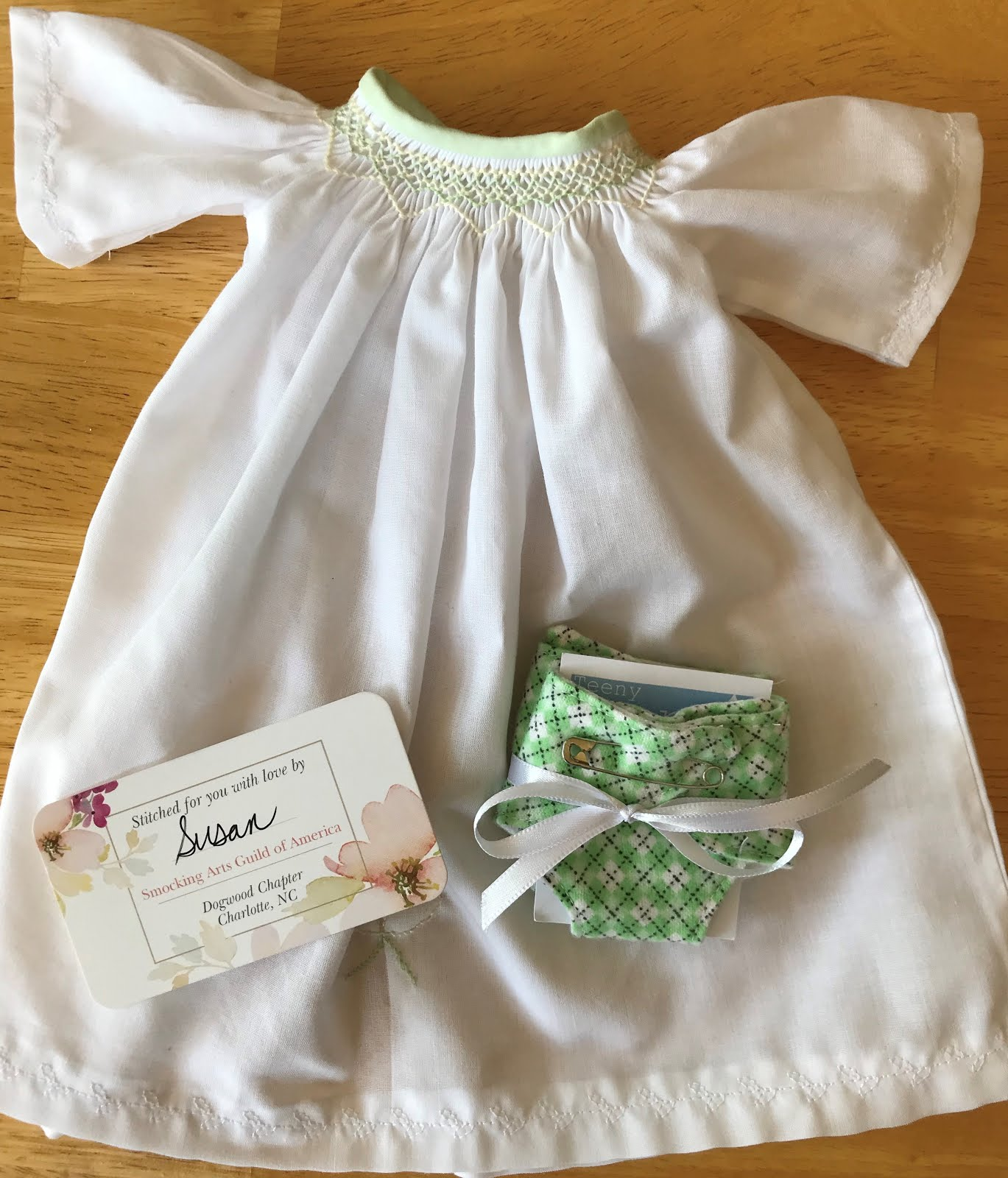 Wee Care Gown of the Month - June