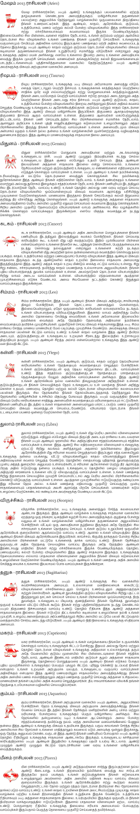 28 may 2013 tamil astrology autos post Home palan