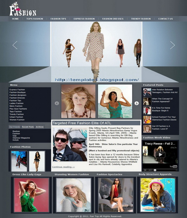 Fashion Pride WordPress Theme