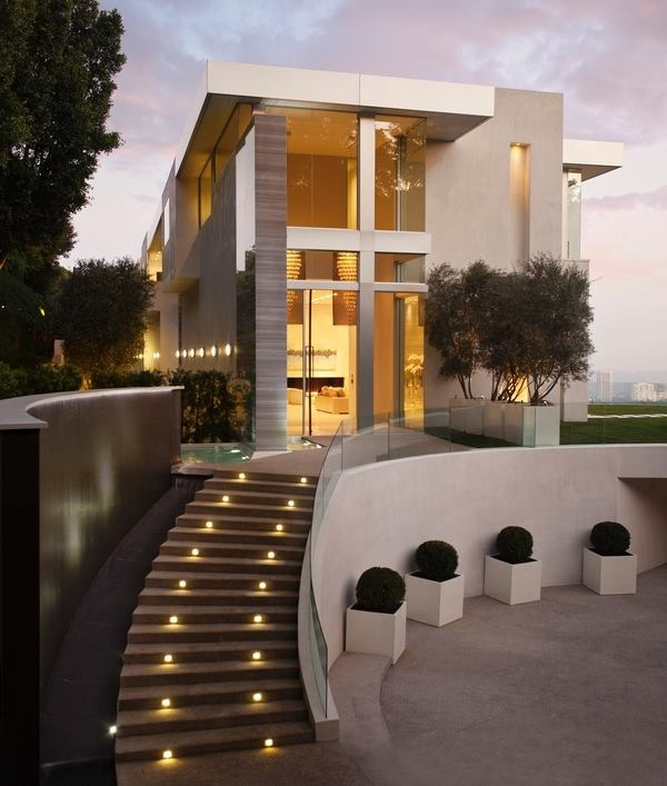 World of architecture 30 modern entrance design ideas for for Modern villa architecture