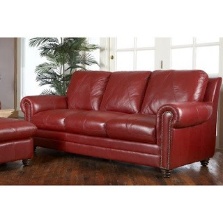 The Perfect Red Leather Sofa For Your Office And Home
