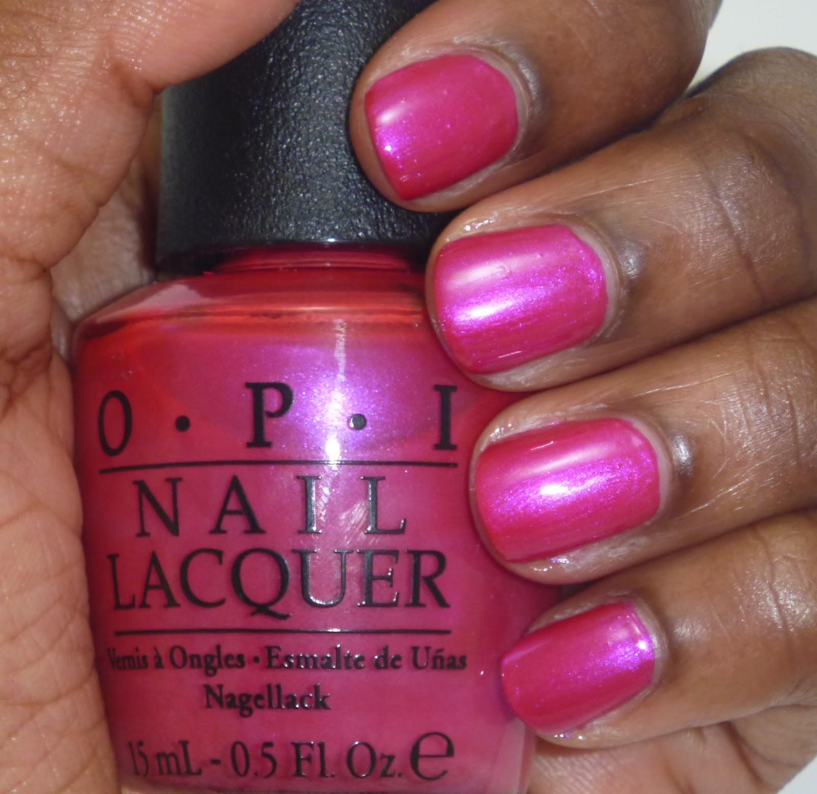 ColourVida: OPI Pompeii Purple Swatch