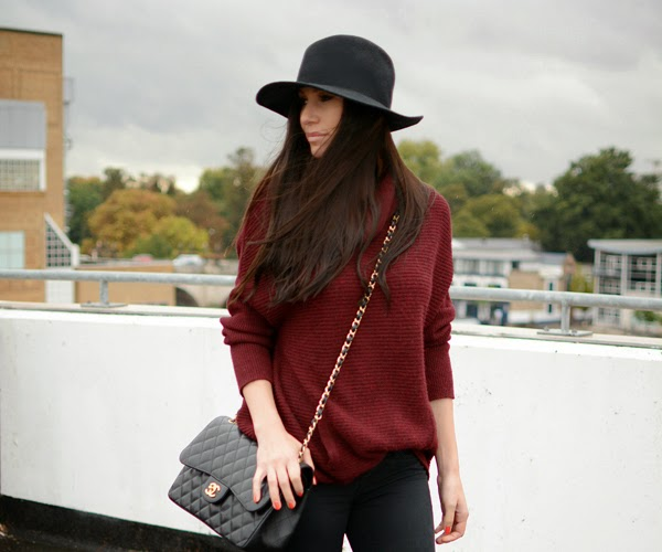 Outfit Hat Chanel Cosy Jumper 2
