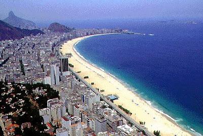Imagens da Praia de Copacabana