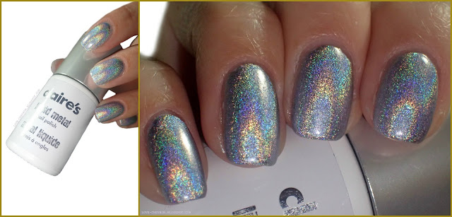 claire's liquid metal nail polish