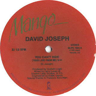 David Joseph - You Can't Hide (Your Love From Me) (Sure Is Pure Remix)