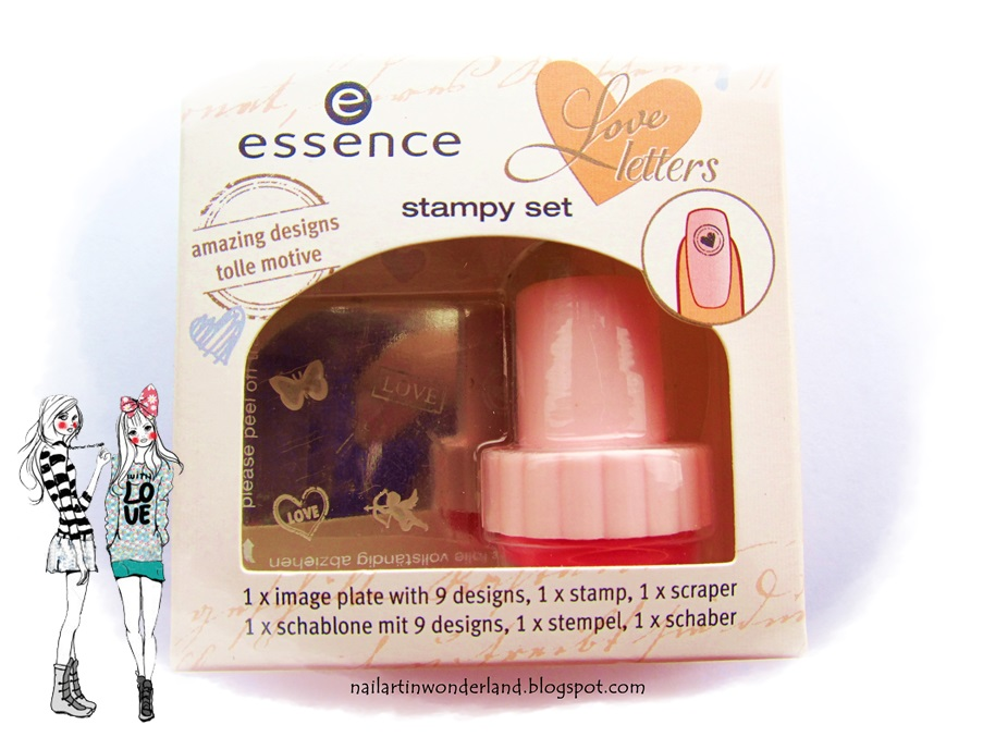Essence nail art damga seti - i'm on cloud nine