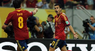 Video Gol Spanyol vs Uruguay 17 Juni 2013
