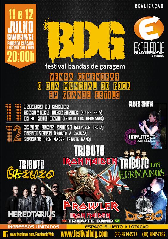 BDG - FESTIVAL BANDAS DE GARAGEM