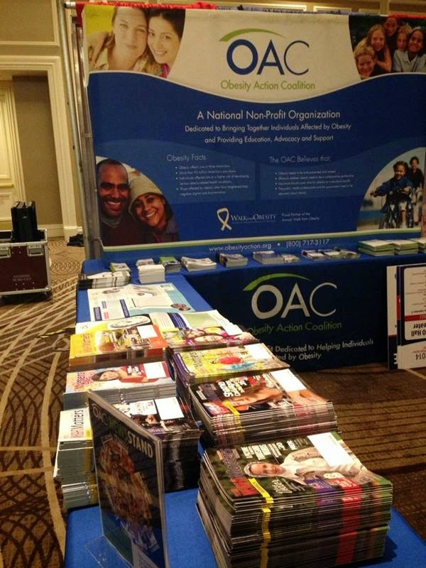 OAC%2Bbooth Weight Loss Recipes OAC Your Weight Matters #YWM2014 Wrap Up