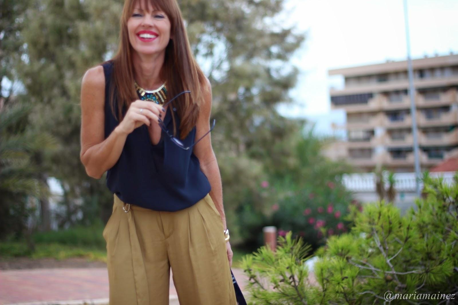 Tendencias Otoño 2014 - palazzo - streetstyle - blogger Alicante - smile