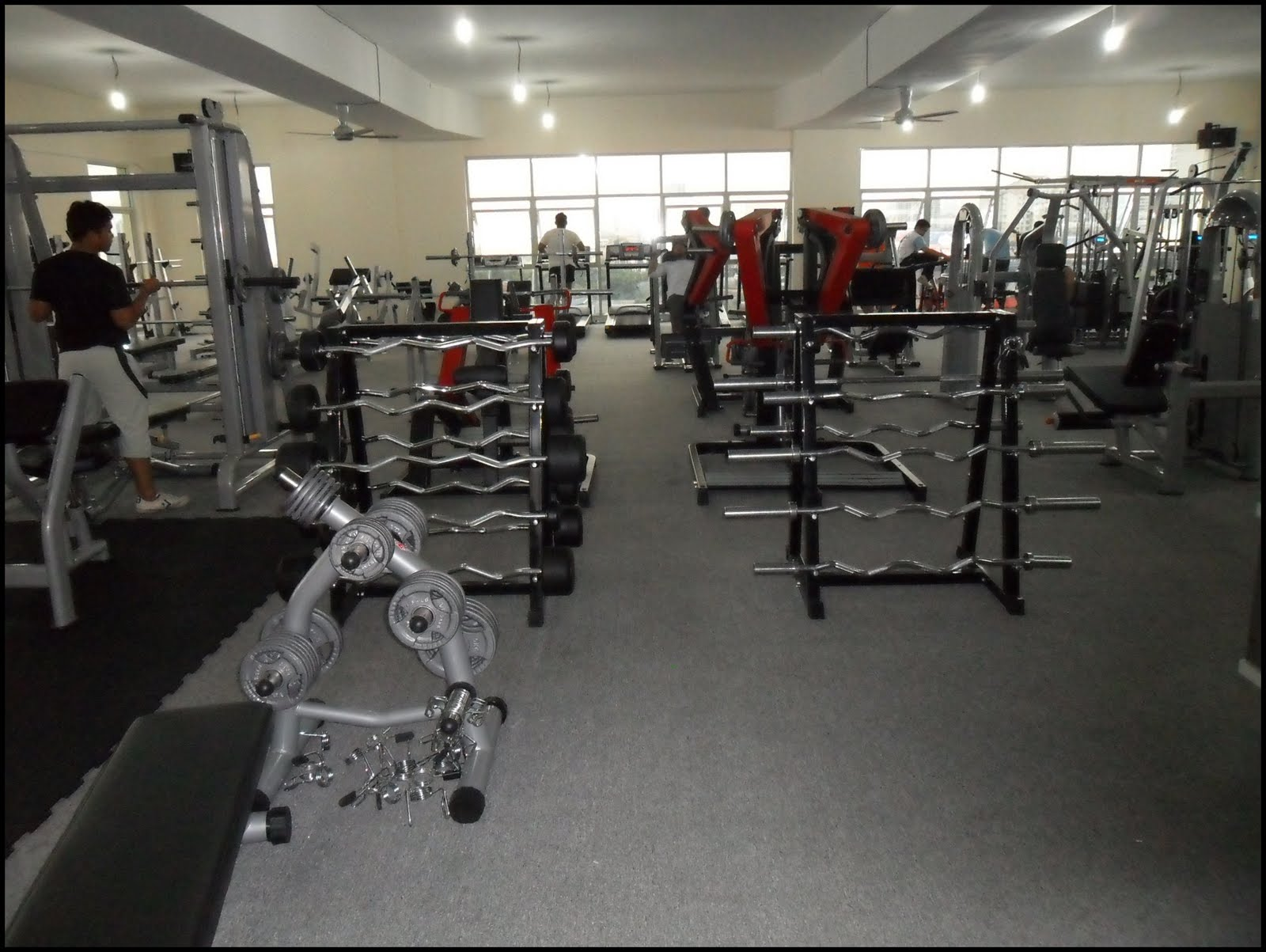Power gym fitness ampang