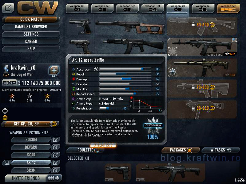 AK12 Contract Wars