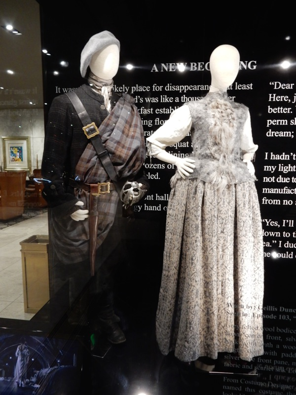 Dougal MacKenzie Geillis Duncan Outlander costumes