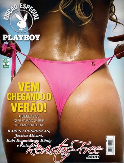 Playboy Especial - Vem Chegando o Verão - Novembro 2014