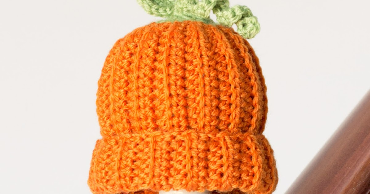 Hopeful Honey Craft, Crochet, Create: Newborn Pumpkin ...