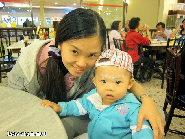 Janice and Baby Martin