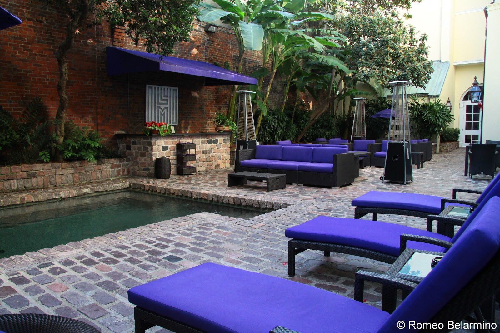 Hotel Le Marais Pool New Orleans French Quarter Hotels