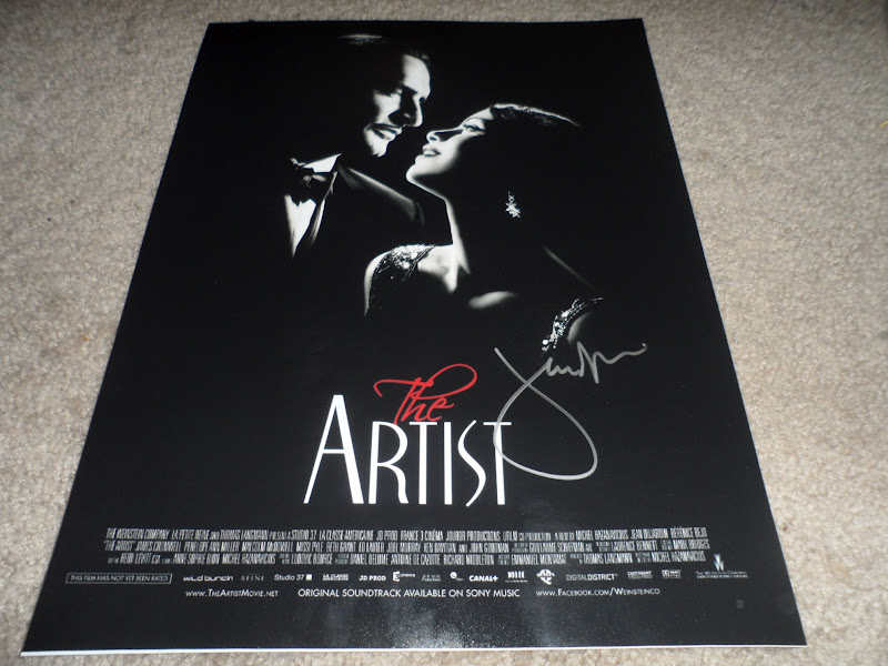 Will the autograph guy jean dujardin and berenice bejo for Jean dujardin autographe