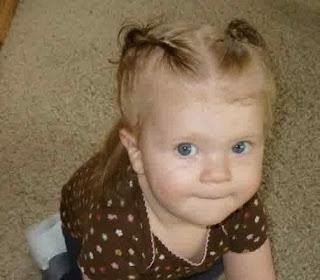 Model rambut lucu untuk anak perempuan