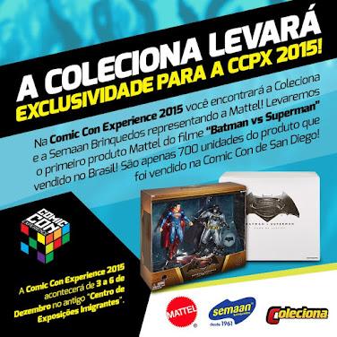 SET EXCLUSIVO BATMAN vs SUPERMAN NA LOJA SEMAAN DA CCXP 2015