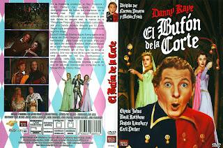 Carátula: El bufón del rey (The Court Jester - 1956)