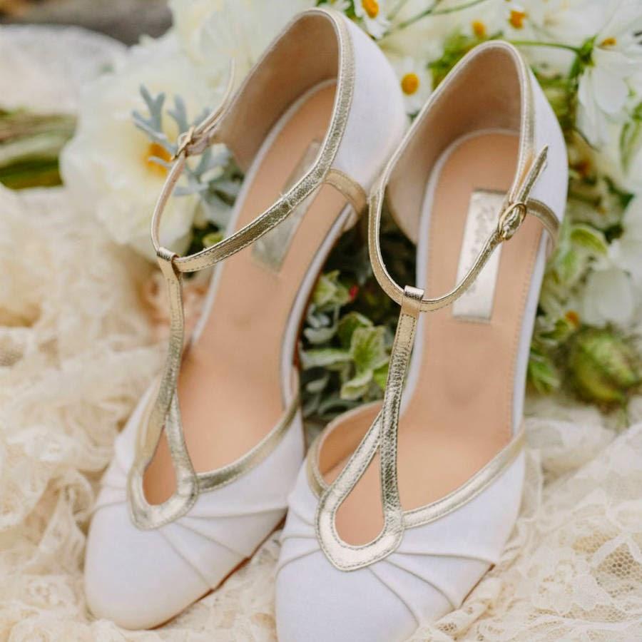 Beautiful Classic Wedding Shoes UK