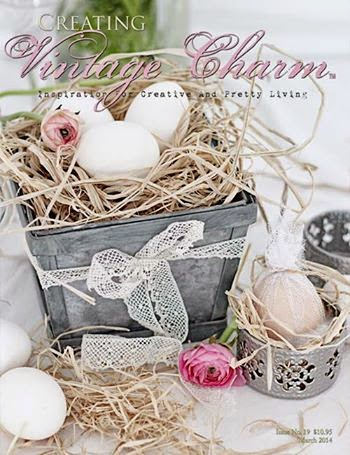 Shingle Cottage featured in the March 2014 issue of Creating Vintage Charm