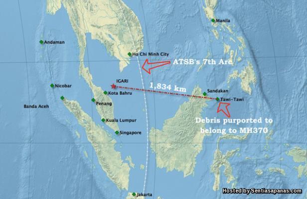 MH370 Tawi-tawi