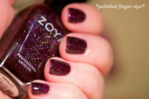 "Zoya ""Peyton"" - artificial light"