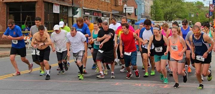 Ellenville Run Like the Wind, 5K & 10K race, Sunday May 17th, 2015