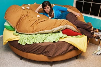 hamburger bed design