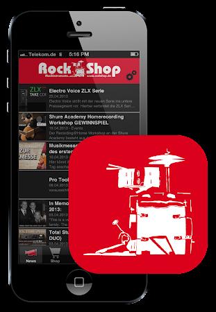Rock Shop App