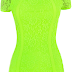 sheworeit: Chloe Sims' Celeb Boutique Alice Neon Lime Green Floral ...