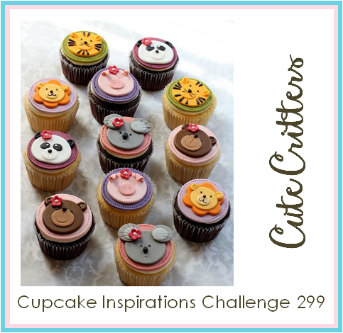 Cupcake Inspirations Challenge #299 - Cute Critters