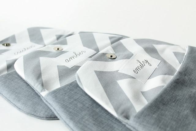 allisa jacobs personalized bridesmaid clutches