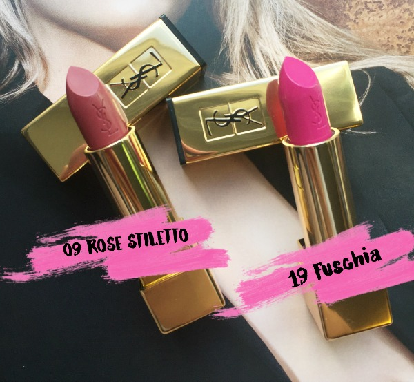YSL Rouge Pur Couture Lipsticks
