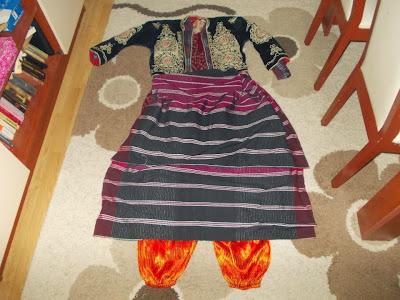 bindallı,folklarik kıyafetler