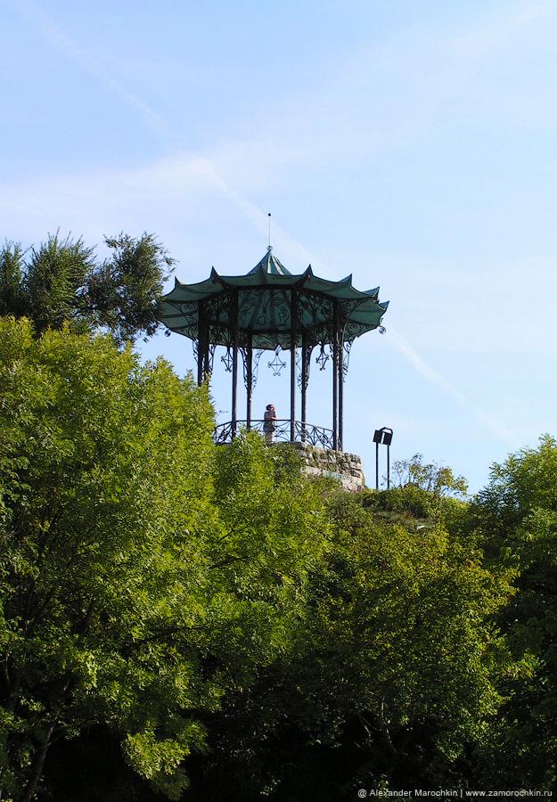 Китайская беседка на горе Горячая в Пятигорске