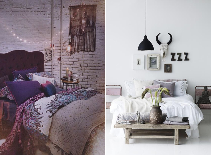 fraiche decoration chambre hippie chic idees de design With ordinary les idees de ma maison 15 choisir la meilleure idee deco chambre adulte archzine fr