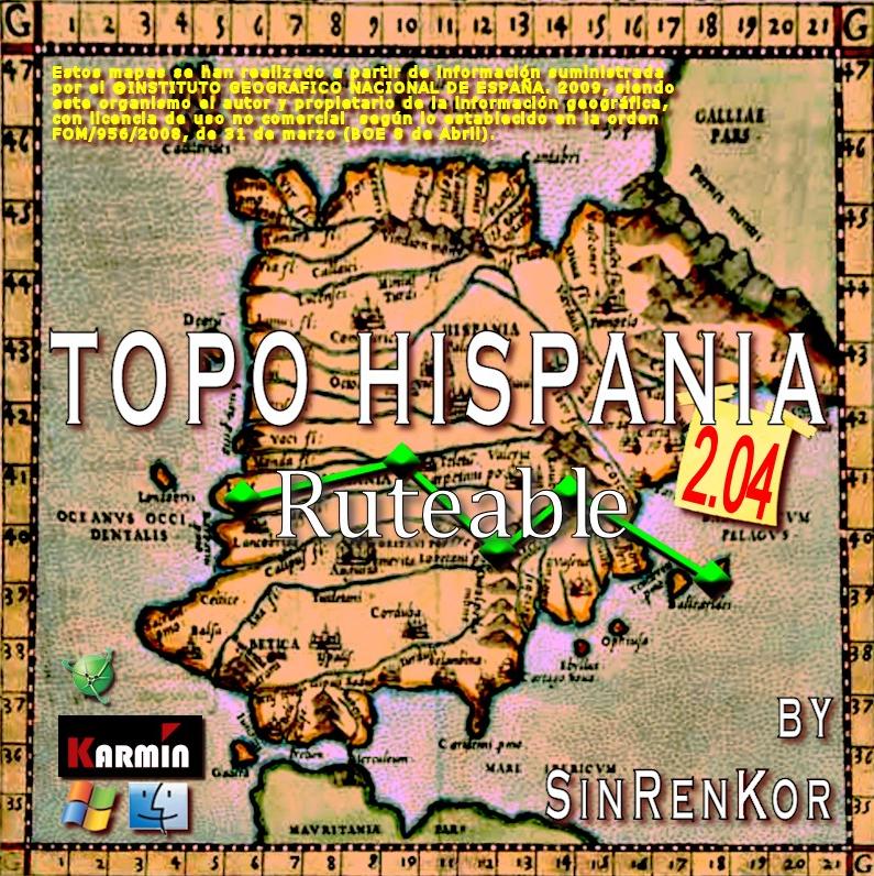 D�NDOLO TODO!!!: MAPAS TOPOGR�FICOS ESPA�A GPS GARMIN